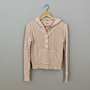 Ralph Lauren Blush Pink Hooded Sweater